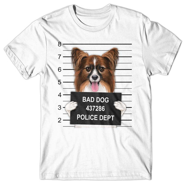 Papillion Mugshot - T-shirt