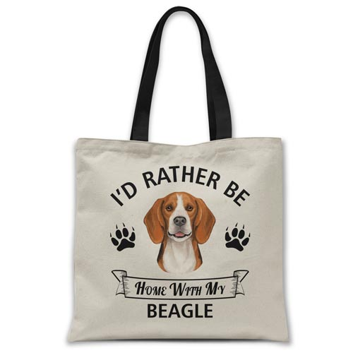 i'd-rather-be-home-with-beagle-tote-bag
