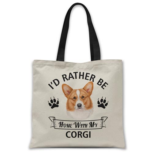 i'd-rather-be-home-with-corgi-tote-bag