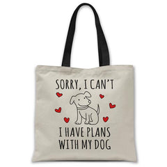 I-have-plans-with-my-dog-tote-bag