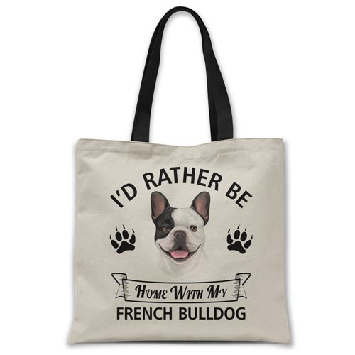 i'd-rather-be-home-with-french-bulldog-tote-bag
