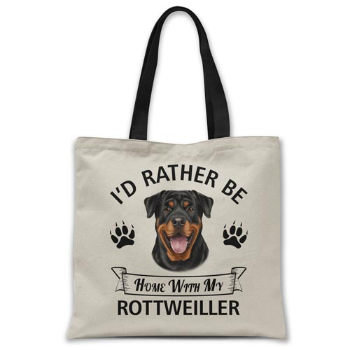 i'd-rather-be-home-with-rottweiler-tote-bag