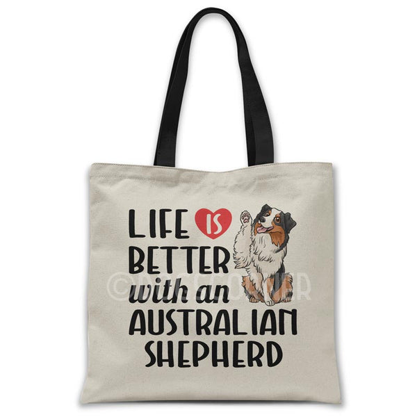 Life-is-better-with-australian-shepherd-tote-bag