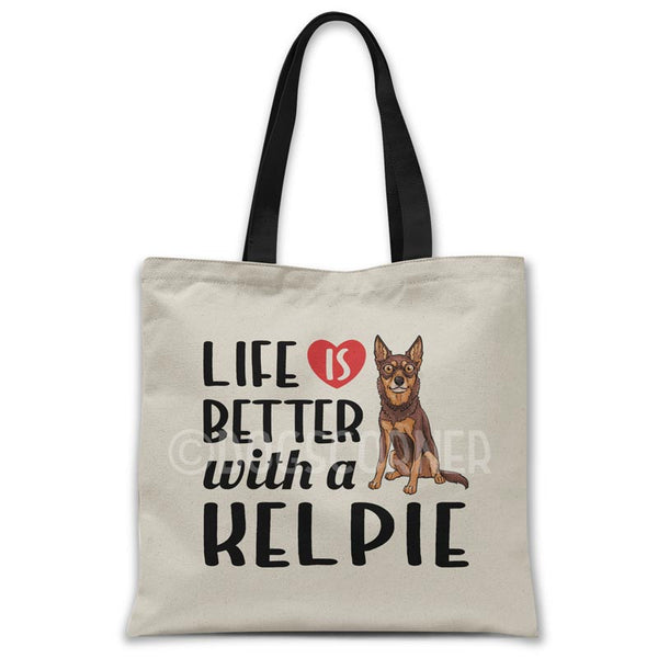 Life-is-better-with-kelpie-tote-bag