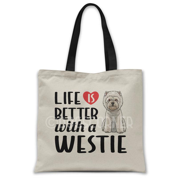 Life-is-better-with-westie-tote-bag
