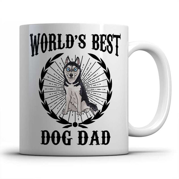 best-husky-dog-dad-mug