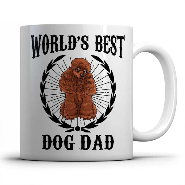 best-poodle-dog-dad-mug