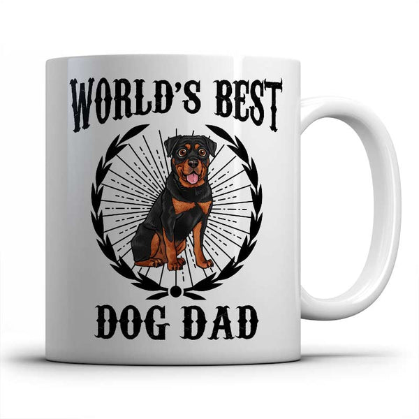 best-rottweiler-dog-dad-mug