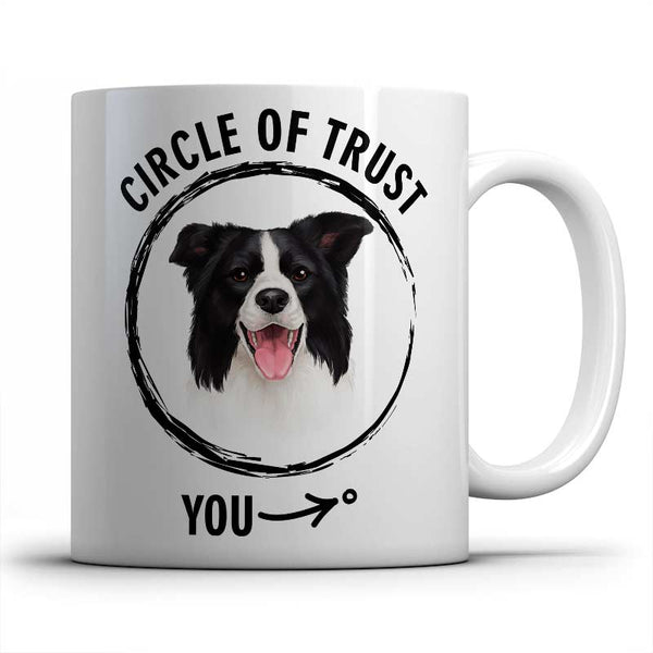 Circle of trust (Border Collie) Mug