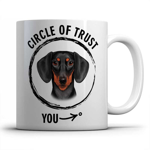 Circle of trust (Dachshund) Mug