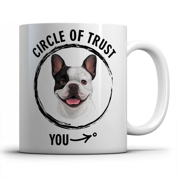Circle of trust (French Bulldog) Mug