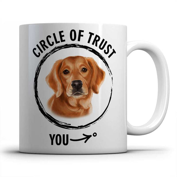 Circle of trust (Golden Retriever) Mug