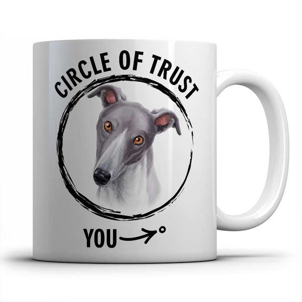 Circle of trust (Greyhound) Mug