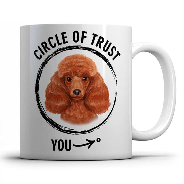 Circle of trust (Poodle) Mug