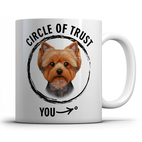 Circle of trust (Yorkshire Terrier) Mug