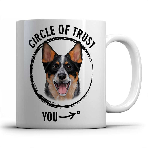 Circle of trust (Australian Cattle Dog) Mug