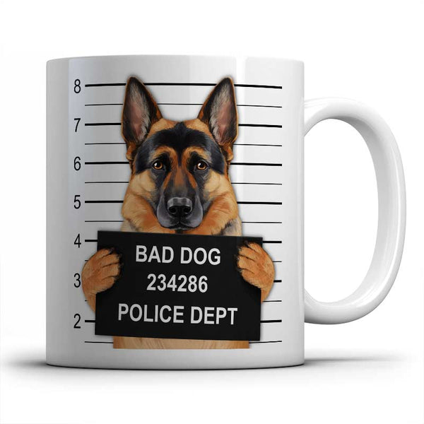 Mugshot (German Shepherd) Mug