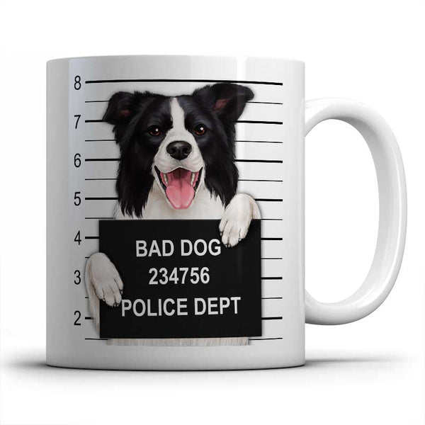 Mugshot (Border Collie) Mug