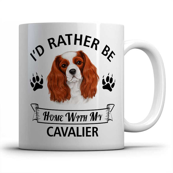 I'd rather be home with my Cavalier Mug