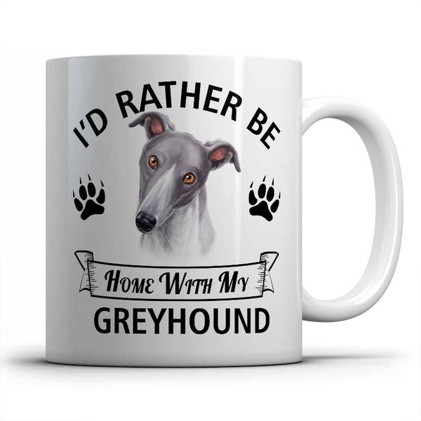 I'd rather be home with my Greyhound Mug