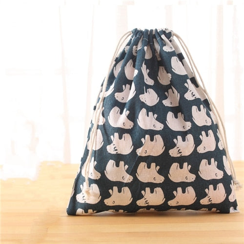 Cotton Drawstring Pouch - Grand ShoppingBag