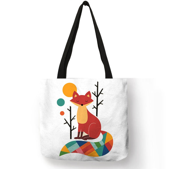 Norse Canvas Animals - Grand ShoppingBag