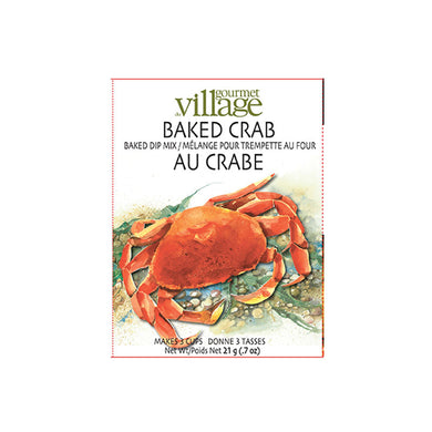 Gourmet Du Village Crab Baked Dip Mix