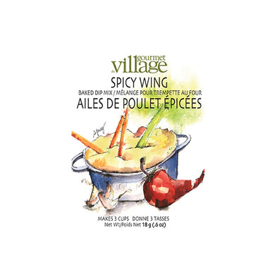 Gourmet Du Village Spicy Wing Baked Dip Mix