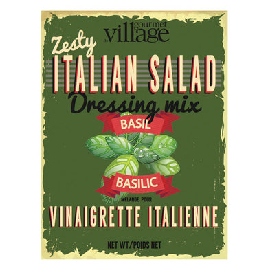 Gourmet Du Village Zesty Italian Salad Dressing Mix