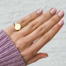Signet Ring 9ct Yellow Gold
