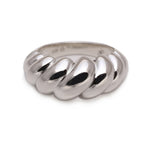Load image into Gallery viewer, Croissant Ring (Silver)