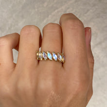 Moonstone Spectrum Ring