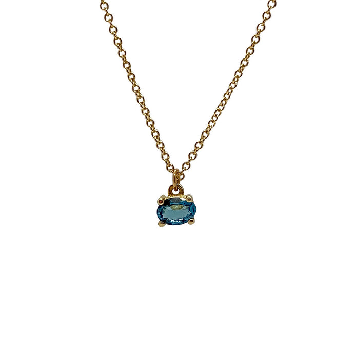 London Topaz Necklace