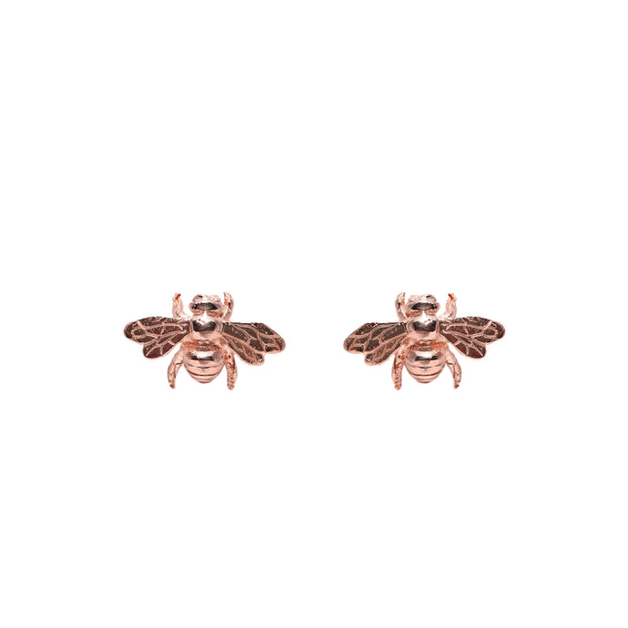Kufara Earrings Rose Gold