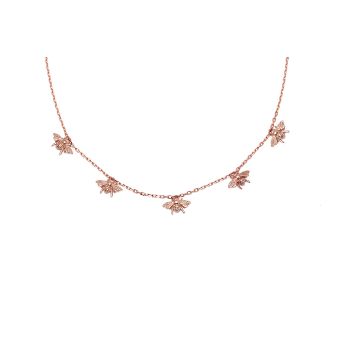 Kufara Necklace Rose Gold