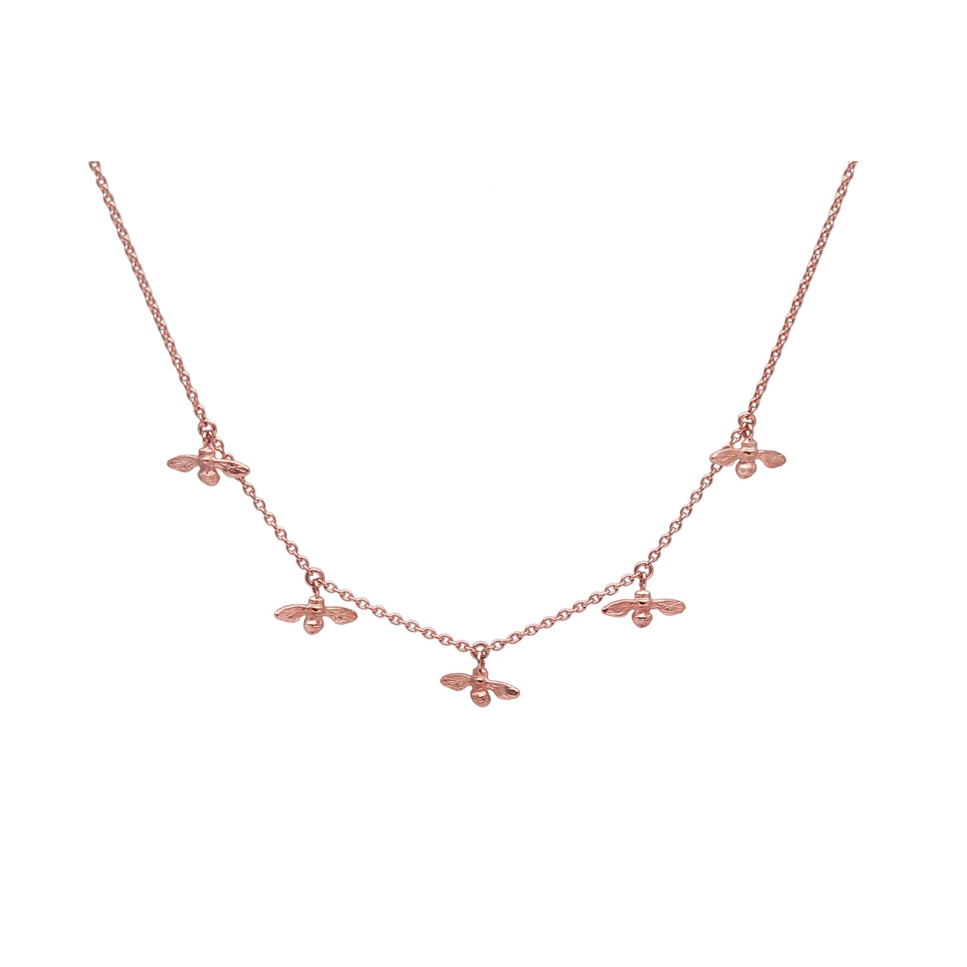 Colony Necklace (rose gold)