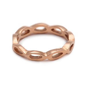 Petal Rose Gold Ring