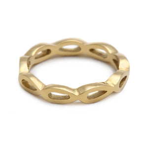 Petal Yellow Gold Ring