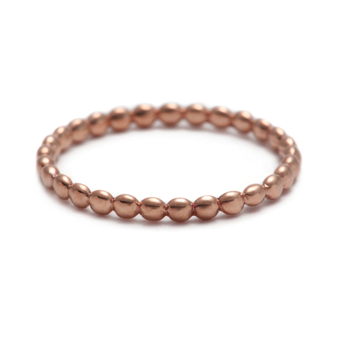Rock Rose Gold Ring