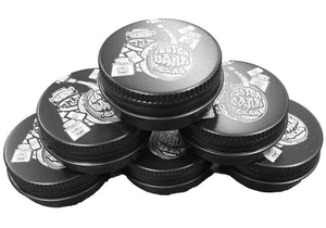 100X Custom Engraved 60ml Screw Top Tin Tub - With Your Logo/Image
