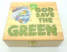 Load image into Gallery viewer, Custom Colour Print Wood Rolling Box - With Your Logo/image/message