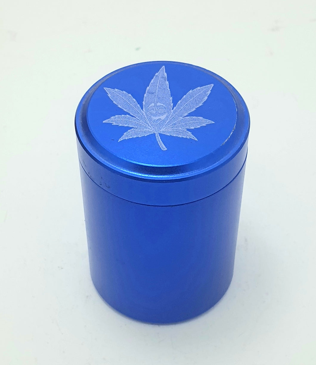 Custom Engraved Stash Pot Blue - With Your Logo/Image/Text