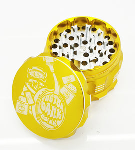 Custom 63mm Premium Beast 4 Part Herb Grinder -With Your Logo/image