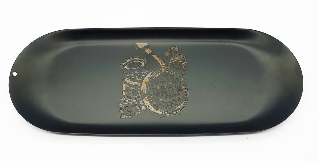 Custom Rolling Tray Black-  With Your Logo/Image