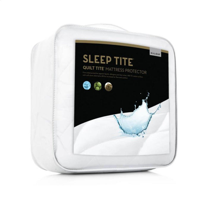 (Price) Quilt Tite Mattress Protector By Malouf