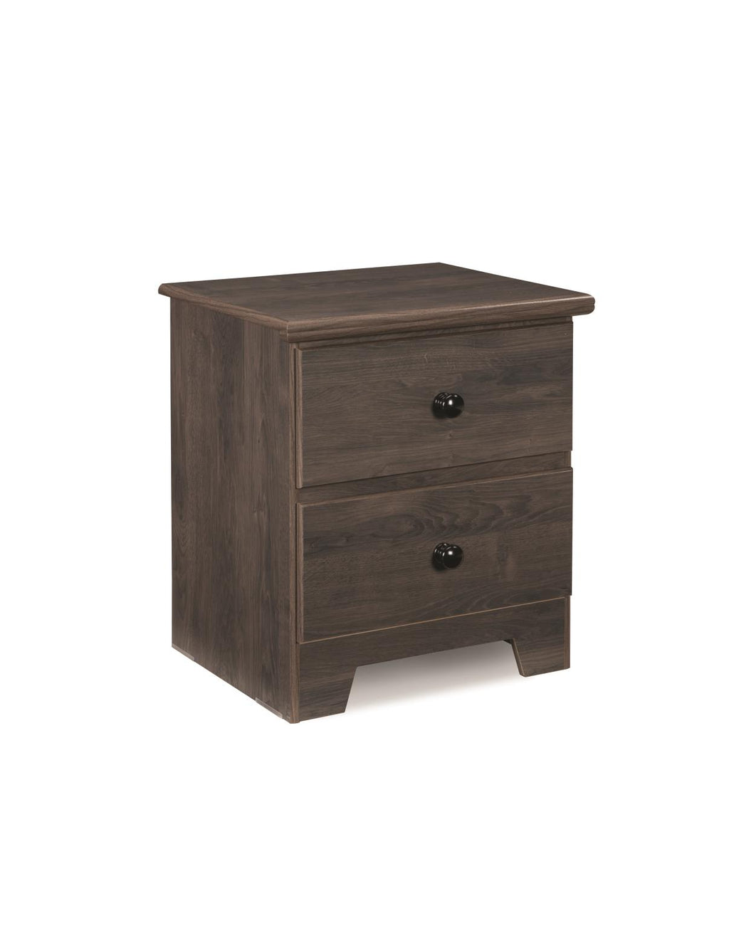 2 Drawer Night Stand - Shaker Collection By Langfurniture
