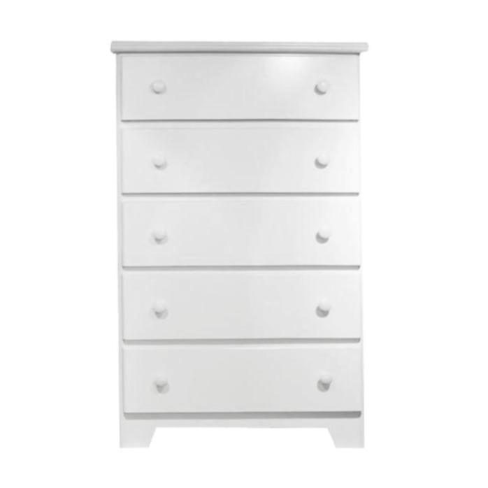5 Drawer Chest - Shaker Collection By Langfurniture