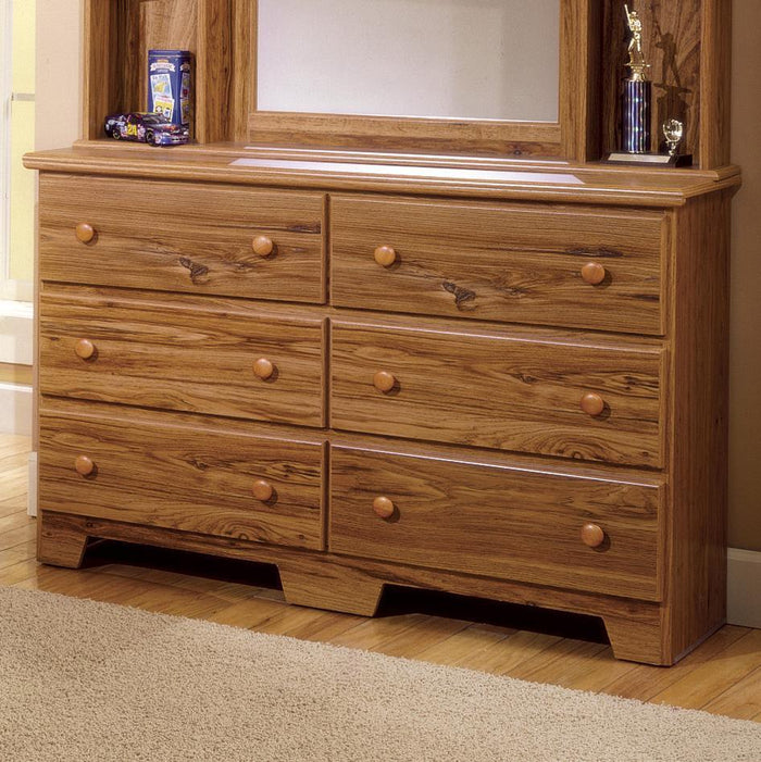 6 Drawer Dresser - Shaker Collection By Langfurniture