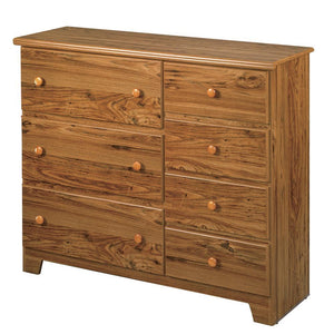 7 Drawer Dresser - Shaker Collection By Langfurniture