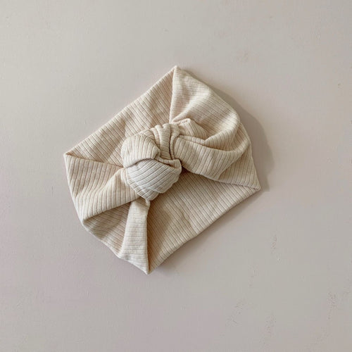 Topknot Headband - Cream (Arriving 17th August)